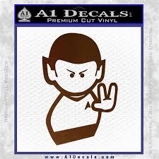 Star Trek Commander Vulcan Mr Spock Decal Sticker A1 Decals