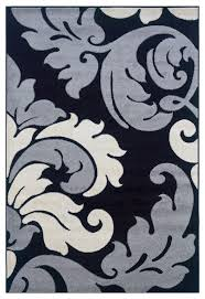 Linon Rugs Corfu Kids Area Rug In Black And Grey 8 X 10 3 Contemporary Area Rugs By Gwg Outlet