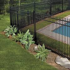 Oxford Aluminum Fence Panel Aluminum Fence Freedom Outdoor Living For Lowes