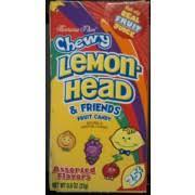 lemonhead chewy lemon head friends