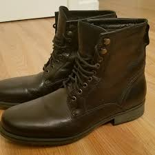 zara shoes man genuine leather laceup