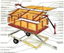 build a homemade cing trailer