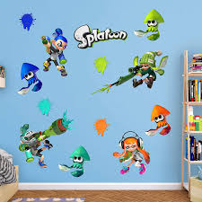 Amazon Com Fathead Splatoon Collection X Large Officially Licensed Nintendo Removable Wall Decal Home Kitchen