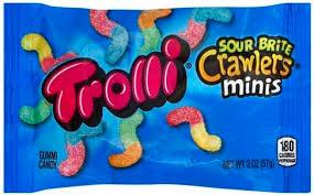 trolli sour brite crawlers minis gummi