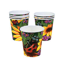 Ladybug Party Cups Set Of 8 Partypalooza Com