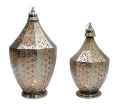 moroccan lanterns laser cut metal