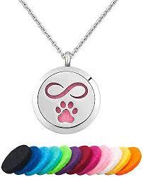 jewelryjo infinity dog cat paw print