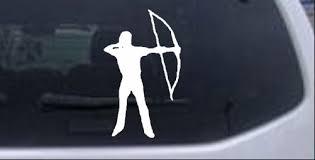 Bow Hunter Car Or Truck Window Decal Sticker Rad Dezigns