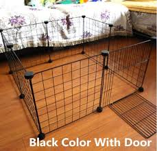 Pet Playpen Iron Fence Collapsible Puppy Kennel House Exercise Security Gate Dogs Supplies Cat Crate Rabbits Guinea Pig Cage Lazada Ph