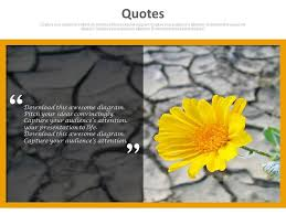 quote flower background for best wishes powerpoint slides