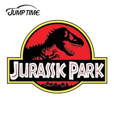 Jumptime 13cm X 12 24cm For Jurassic Park Funny Sticker Dinosaur Van Car Stickers Waterproof Accessories Car Bumper Window Decal Car Stickers Aliexpress
