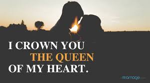 i crown you the queen of my heart