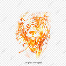 hd tiger picture fierce flames tiger