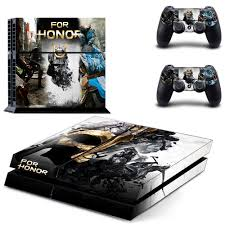 Game For Honor Ps4 Skin Sticker Decal For Sony Playstation 4 Console And 2 Controllers Ps4 Skin Sticker Vinyl Accessories Stickers Aliexpress