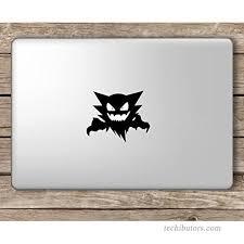 Haunter Pokemon Inspired Vinyl Decal Sticker Ghost Gastly Apple Laptop Macbook Room Decor Nursery B01koxmkz0
