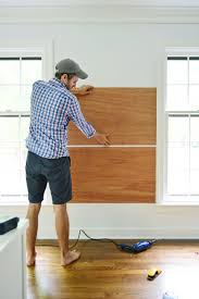 How To Make A Giant Cork Board Wall For Kid Art Young House Love