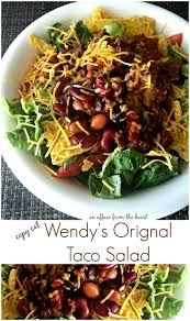 copy cat wendy s original taco salad