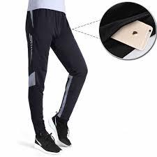 Sports Trousers Soccer Training Pants Men Joggers Slim Skinny ...