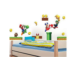 Super Mario Brothers Removable Wall Decals Stickers Kids Room Decoration Build A Scene Peel Newegg Com