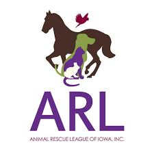 Animal Rescue League of Iowa logo