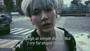 quotes bts suga depressedquote sad cute quotes