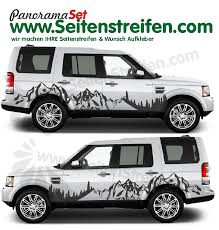 Land Rover Discovery Mountains And Forest Xxl Graphics Decals Sticker Kit N 3018