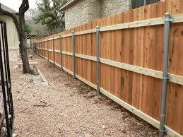 Ideal Galvanized Steel Fence Posts In 2020 Wood Fence Design Steel Fence Posts Wood Fence