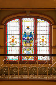 stained glass window at the dunedin