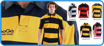 match hooped striped rugby shirts kg003