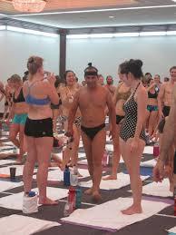 bikram yoga teacher
