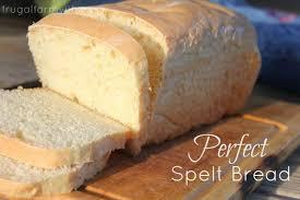 perfect spelt sandwich bread recipe