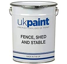 Water Based Shed And Fence Paint Anthracite Grey 20 Litre Amazon Co Uk Diy Tools