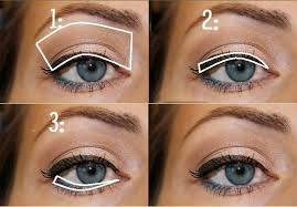 lovely makeup for your blue eyes