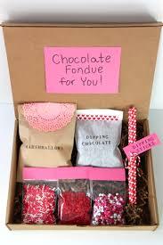 gift idea valentine s day fondue kit