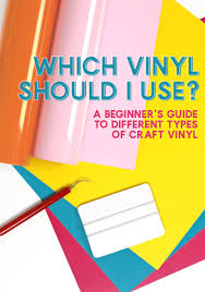Which Vinyl Should I Use A Beginner S Guide To Different Types Of Craft Vinyl Persia Lou