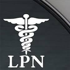 Amazon Com Lpn Licensed Practical Nurse White Sticker Decal Car Window Wall Macbook Notebook Laptop Sticker Decal Automotive