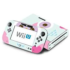Amazon Com Cute Owl Decorative Decal Cover Skin For Nintendo Wii U Console And Gamepad Video Games