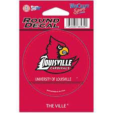 Wincraft Louisville Cardinals Round Vinyl Decal