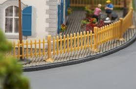 Faller Ho Scale Scenery Accessory Kit Classic Wooden Lattice Picket Fence Y2play Stores