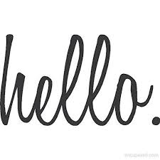 N Sunforest Hello Quote Greeting Front Door Decal Script Lettering Entry Way Or Porch Vinyl Sticker
