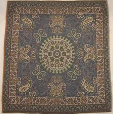persian rug style miniature paisley art