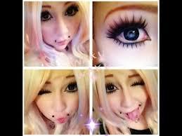 hime gyaru makeup tutorial by jackiie