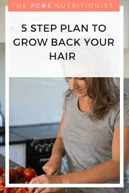 pcos hair loss my 5 step plan to help