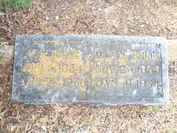"Martha B. ""Mattie"" West Bruce (1860-1934) - Find A Grave Memorial"