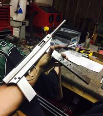 semi auto p a luty machine pistol