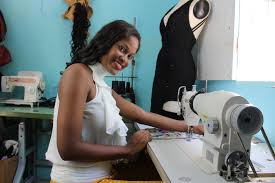 From bed sheet scarfs to clothing start-up; Georgia Johnson ...