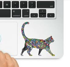 Amazon Com Decal Sticker Pros Multi Colored Abstract Diversity Cat Trackpad Decal Laptop Compatible With All Apple Macbook Retina Air Trackpad Keypad Sticker Arts Crafts Sewing