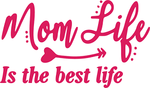 Mom Life Is The Best Life Decal Sticker 5 5 Inches By 3 25 Inches Hot Pink Vinyl Walmart Com Walmart Com