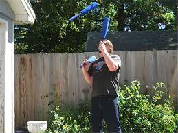 Most Head Rolls While Juggling Three Baseball Bats | World Record | Brian  Pankey