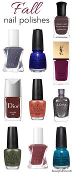nail colors you need this fall